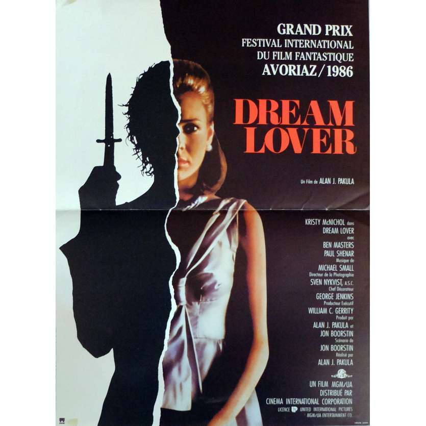 DREAM LOVER Movie Poster 15x21 in. French - 1986 - Alan J. Pakula, Kristy McNichol