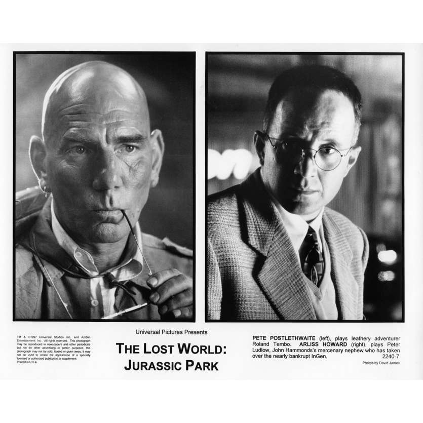 JURASSIC PARK 2 THE LOST WORLD Movie Still N8 8x10 in. USA - 1997 - Steven Spielberg, Jeff Goldblum