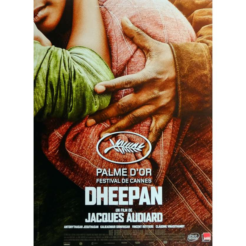 DHEEPAN Movie Poster 15x21 in. French - 2015 - Jacques Audiard, Jesuthasan Antonythasan