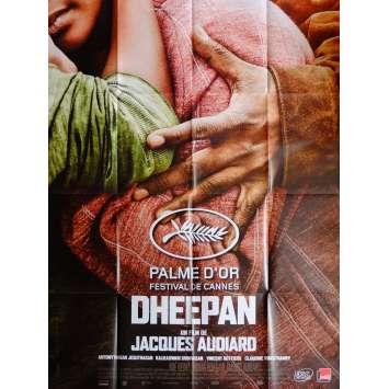 DHEEPAN Movie Poster 47x63 in. French - 2015 - Jacques Audiard, Jesuthasan Antonythasan
