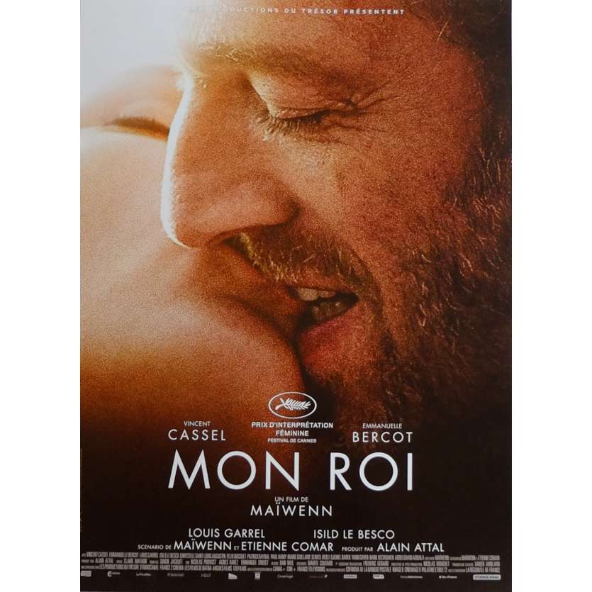 MON ROI Movie Poster 15x21 in. French - 2015 - Maïwenn, Vincent Cassel