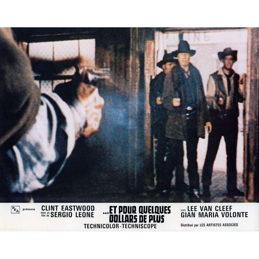 ET POUR QUELQUES DOLLARS DE PLUS Photo de film N6 21x30 cm - 1965 - Clint Eastwood, Sergio Leone