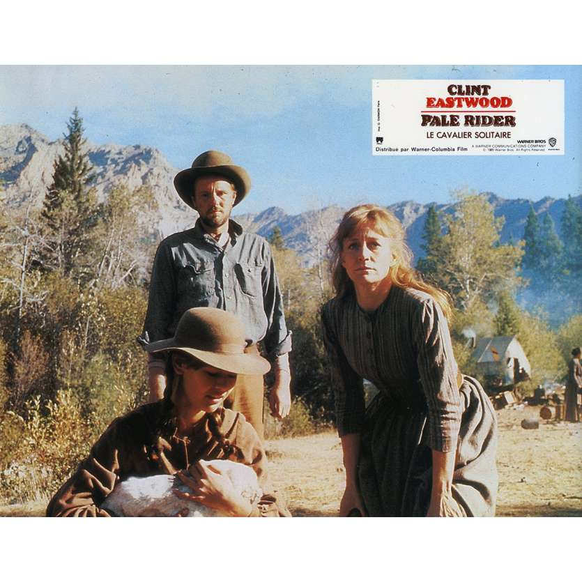 PALE RIDER Lobby Card N6 9x12 in. French - 1985 - Clint Eastwood,