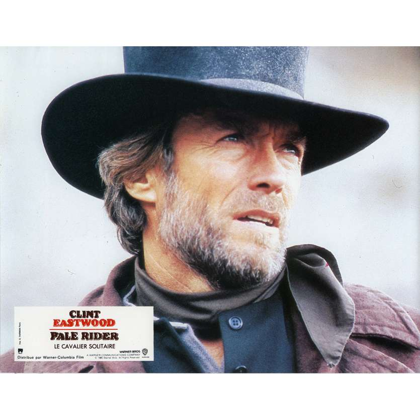 PALE RIDER Lobby Card N4 9x12 in. French - 1985 - Clint Eastwood,