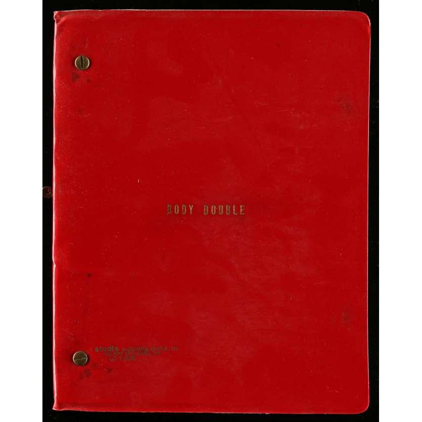 BODY DOUBLE Movie Script 9x12 in. USA - 1984 - Brian de Palma, Melanie Griffith