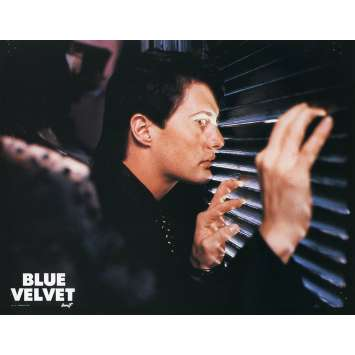 BLUE VELVET Lobby Card N1 9x12 in. French - 1986 - David Lynch, Isabella Rosselini