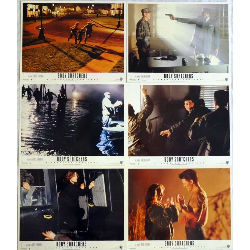 BODY SNATCHERS Lobby Cards x6 9x12 in. French - 1995 - Abel Ferrara, Meg Tilly