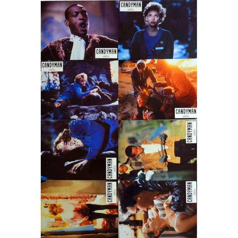 CANDYMAN Lobby Cards x8 9x12 in. French - 1992 - Bernard Rose, Virginia Madsen