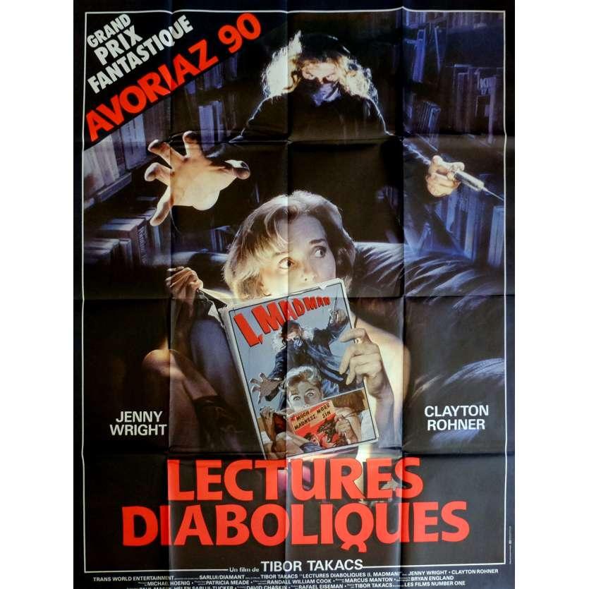 LECTURES DIABOLIQUES Affiche de film 120x160 cm - 1989 - Jenny Wright, Tibor Takacs