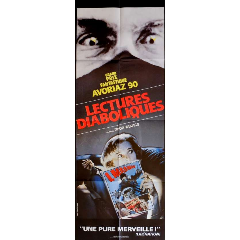 I MADMAN Movie Poster 23x63 in. French - 1989 - Tibor Takacs, Jenny Wright