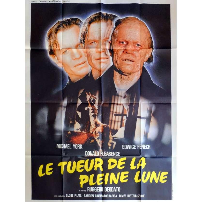 UN DELITO POCO COMUNE Movie Poster 47x63 in. French - 1988 - Ruggero Deodato, Michael York