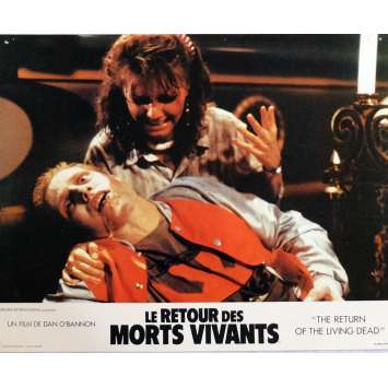 THE RETURN OF THE LIVING DEAD Lobby Cards N8 11x14 in. French - 1985 - Dan O'Bannon, Clu Gulager