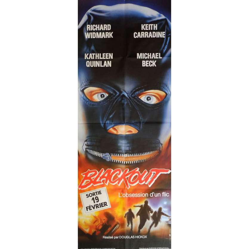 BLACKOUT Movie Poster 23x63 in. French - 1985 - Douglas Hickox, Keith Carradine