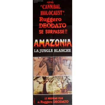 AMAZONIA Affiche de film 60x160 cm - 1985 - Lisa Blount, Ruggero Deodato