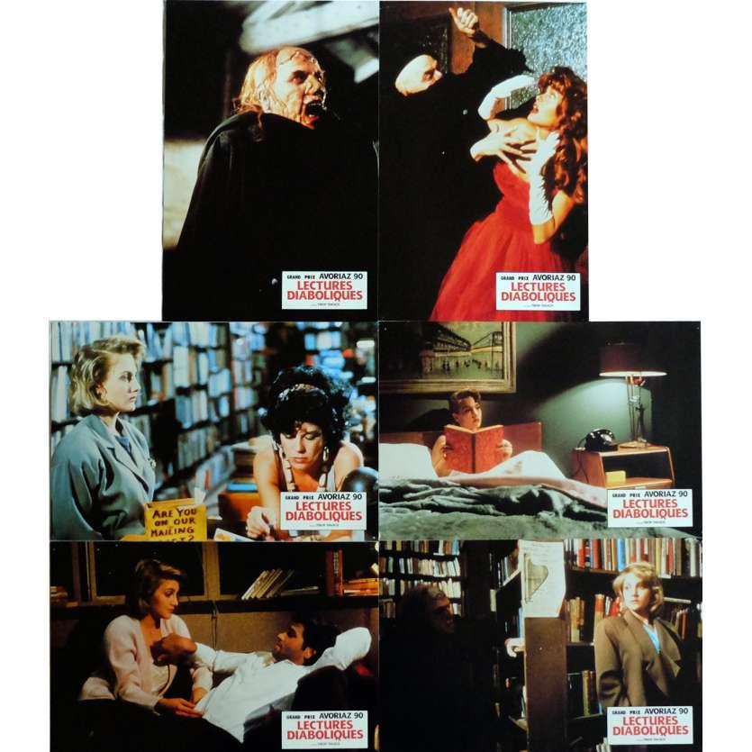 LECTURES DIABOLIQUES Photos de film x6 21x30 cm - 1989 - Jenny Wright, Tibor Takacs