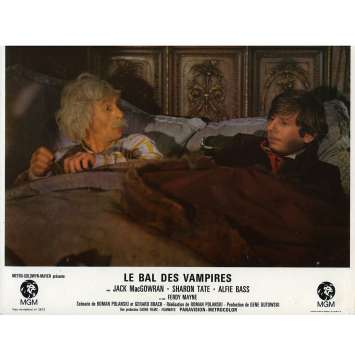 THE FEARLESS VAMPIRE KILLERS Lobby Card N2 9x12 in. French - 1967 - Roman Polanski, Sharon tate