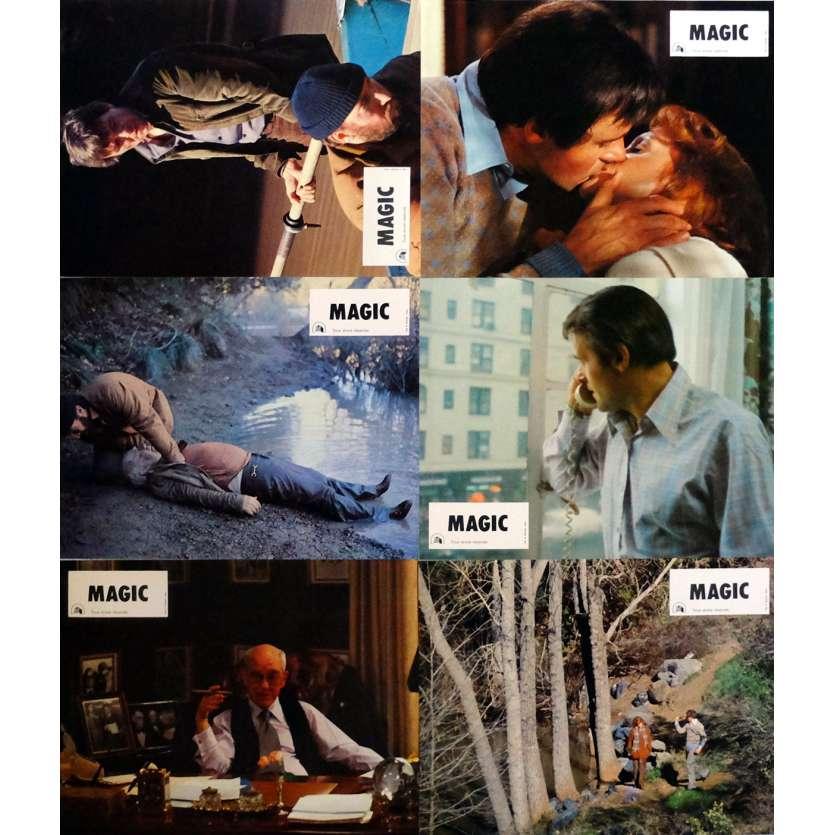 MAGIC Photos de film x6 21x30 cm - 1978 - Anthony Hopkins, Richard Attenborough