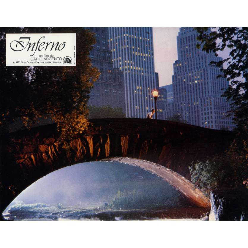 INFERNO Lobby Card N5 9x12 in. French - 1980 - Dario Argento, Leigh McCloskey
