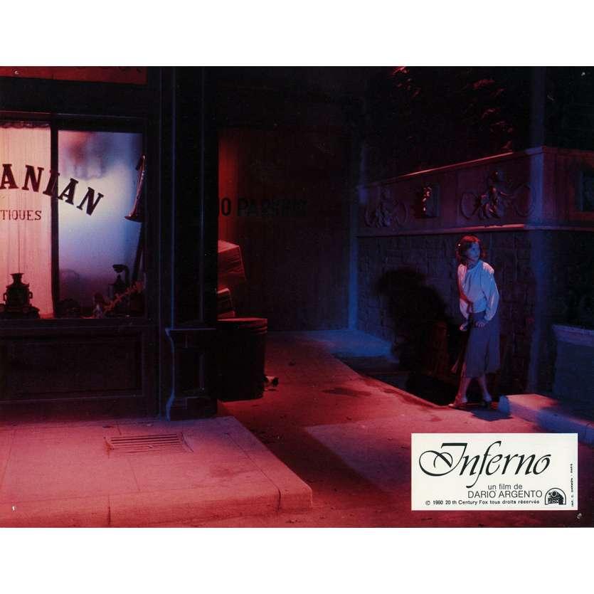 INFERNO Photo de film N3 21x30 cm - 1980 - Leigh McCloskey, Dario Argento