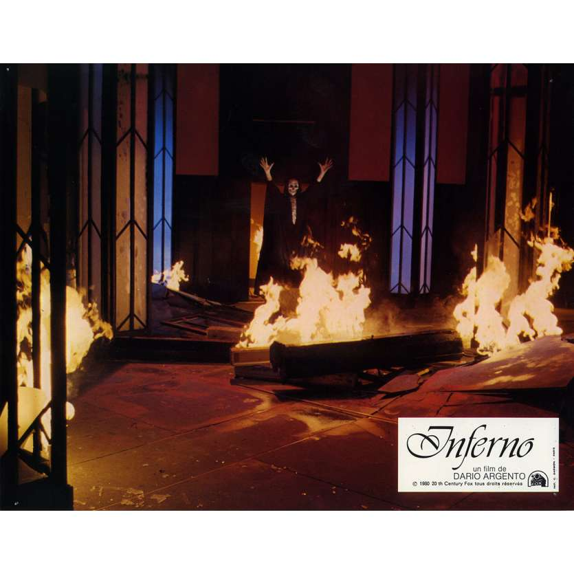 INFERNO Photo de film N1 21x30 cm - 1980 - Leigh McCloskey, Dario Argento
