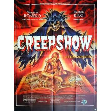 CREEPSHOW Movie Poster 47x63 in. French - 1982 - George A. Romero, Stephen King