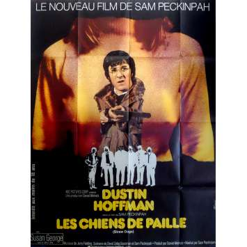 STRAW DOGS Movie Poster 47x63 in. French - 1971 - Sam Peckinpah, Dustin Hoffman