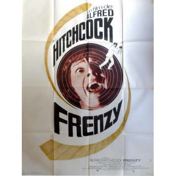 FRENZY Movie Poster 47x63 in. French - 1972 - Alfred Hitchcock, Jon Finch