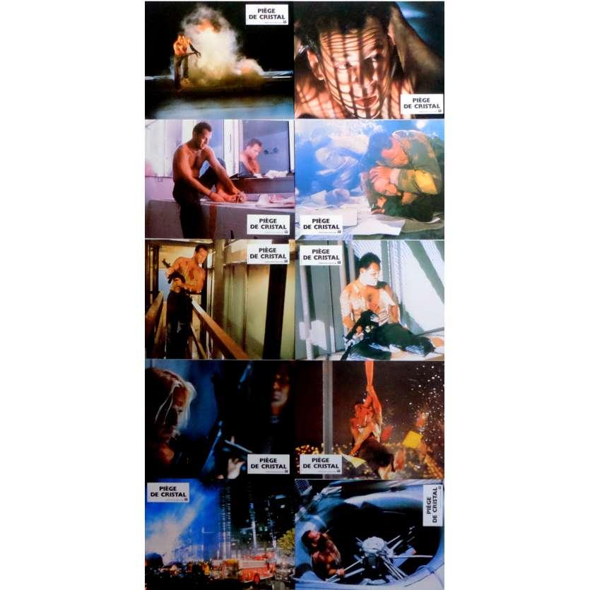 PIEGE DE CRISTAL Photos de film x10 21x30 cm - 1988 - Bruce Willis, John McTiernan