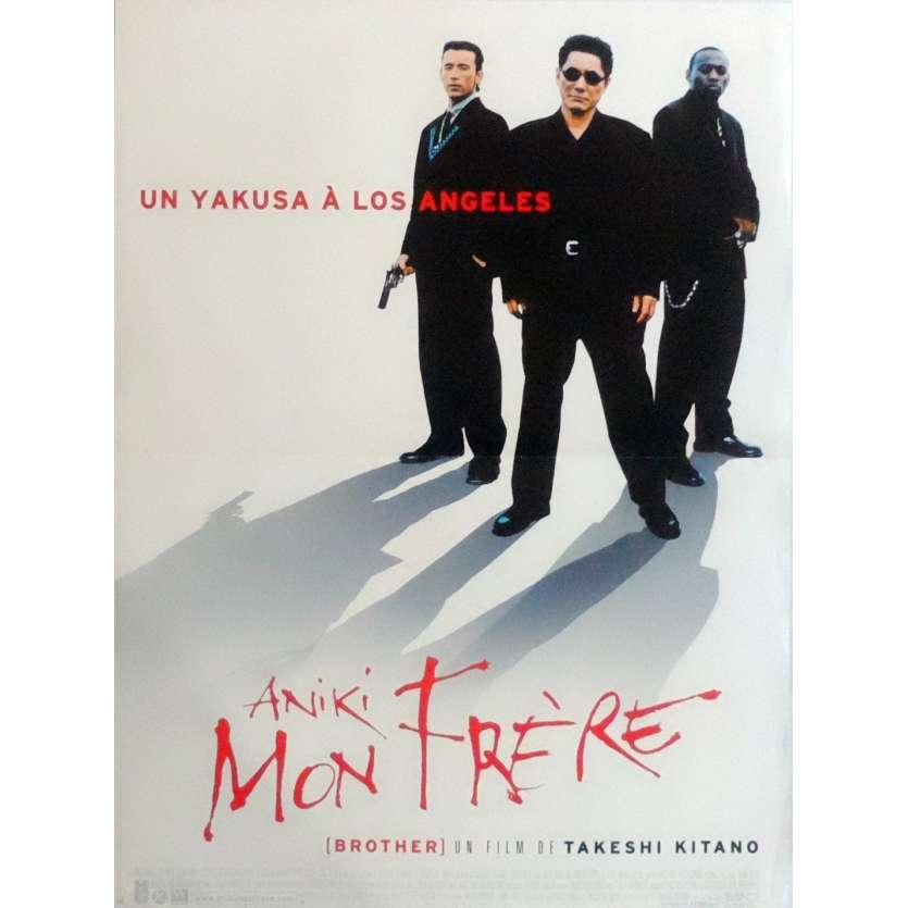 ANIKI MON FRERE Affiche de film 40x60 cm - 2000 - Omar Epps, Takeshi Kitano