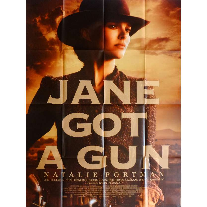 JANE GOT A GUN Affiche de film 120x160 cm - 2015 - Natalie Portman, Gavin O'Connor