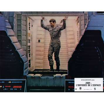 2001 A SPACE ODYSSEY Lobby Card N4 9x12 in. French - 1970 - Stanley Kubrick, Keir Dullea