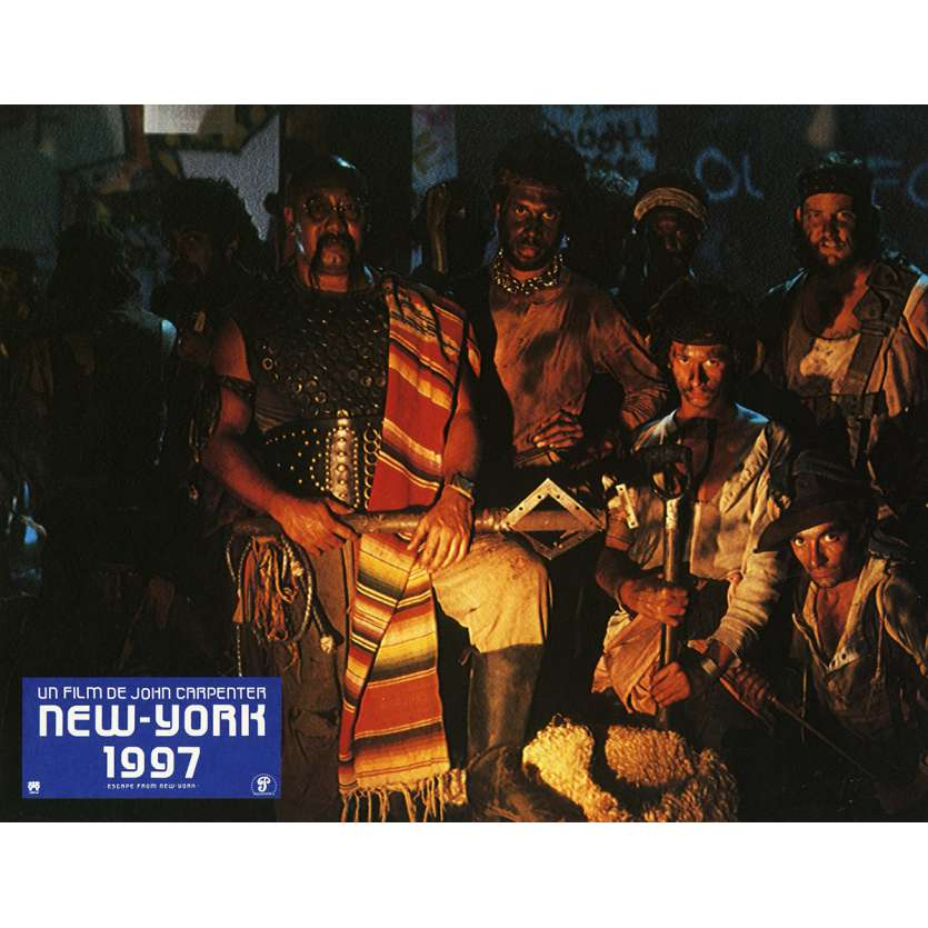 NEW-YORK 1997 Photo de film N1 21x30 cm - 1981 - Kurt Russel, John Carpenter