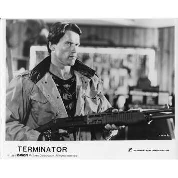 TERMINATOR Movie Still N2 8x10 in. French - 1983 - James Cameron, Arnold Schwarzenegger