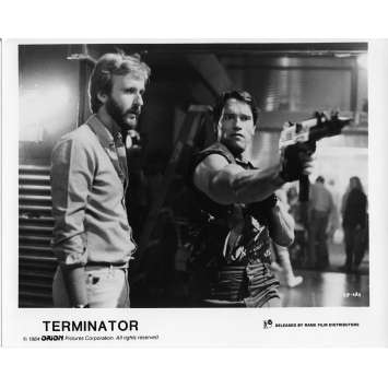 TERMINATOR Movie Still N4 8x10 in. French - 1983 - James Cameron, Arnold Schwarzenegger