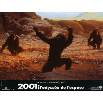 2001 A SPACE ODYSSEY Lobby Card N2 9x12 in. French - 1990 - Stanley Kubrick, Keir Dullea