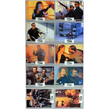 TERMINATOR 2 Lobby Cards x11 9x12 in. French - 1992 - James Cameron, Arnold Schwarzenegger