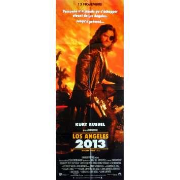 LOS ANGELES 2013 Affiche de film 60x160 cm - 1996 - Kurt Russel, John Carpenter