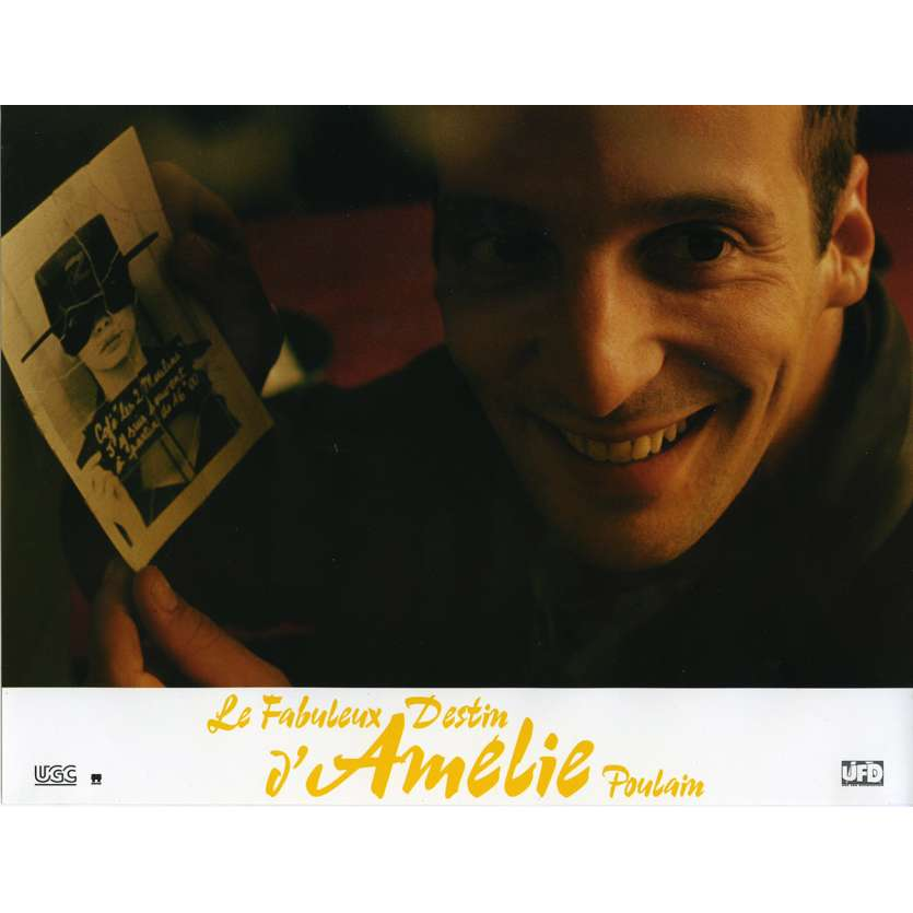 AMELIE Lobby Card N2 9x12 in. French - 2001 - Jean-Pierre Jeunet, Audrey Tautou