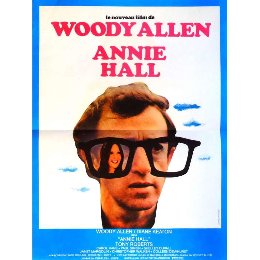 ANNIE HALL Affiche de film 40x60 cm - 1977 - Diane Keaton, Woody Allen