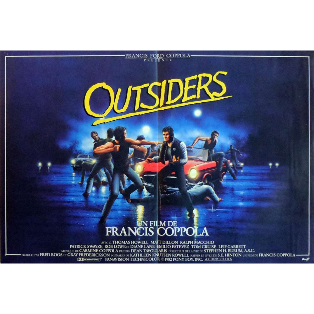 an analysis of the outsiders club directed by francis ford coppola
