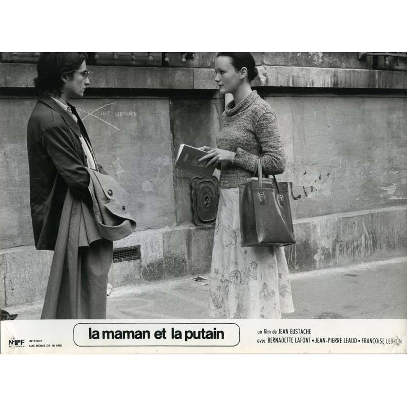 THE MOTHER AND THE WHORE Lobby Card N5 9,5x12 in. French - 1973 - Jean Eustache, Jean-Pierre Léaud