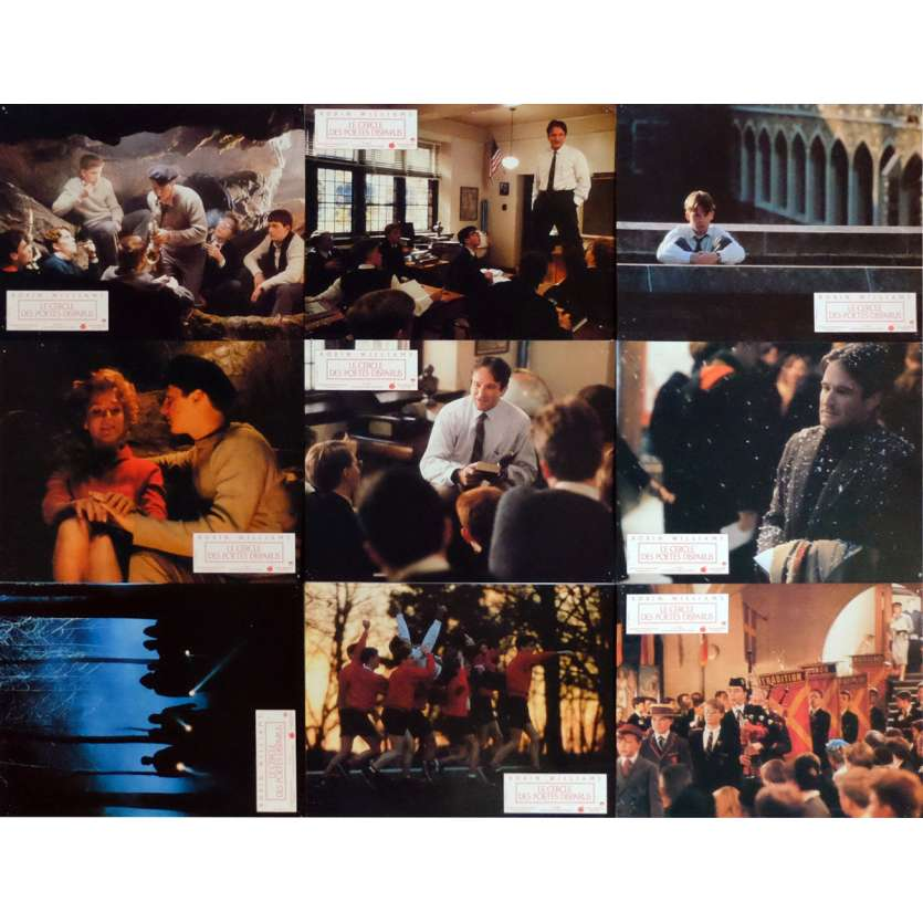 DEAD POETS SOCIETY Lobby Cards x9 9x12 in. French - 1989 - Peter Weir, Robin Williams