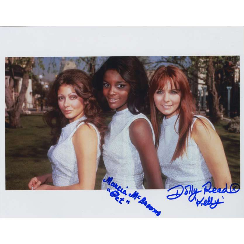 LA VALLEE DES PLAISIRS Photo signée A 20x25 cm - 1970 - Dolly Read, Marcia McBroom, Russ Meyer