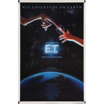 E.T. Affiche US '82 Steven Spielberg, Drew Barrymore Original Movie Poster