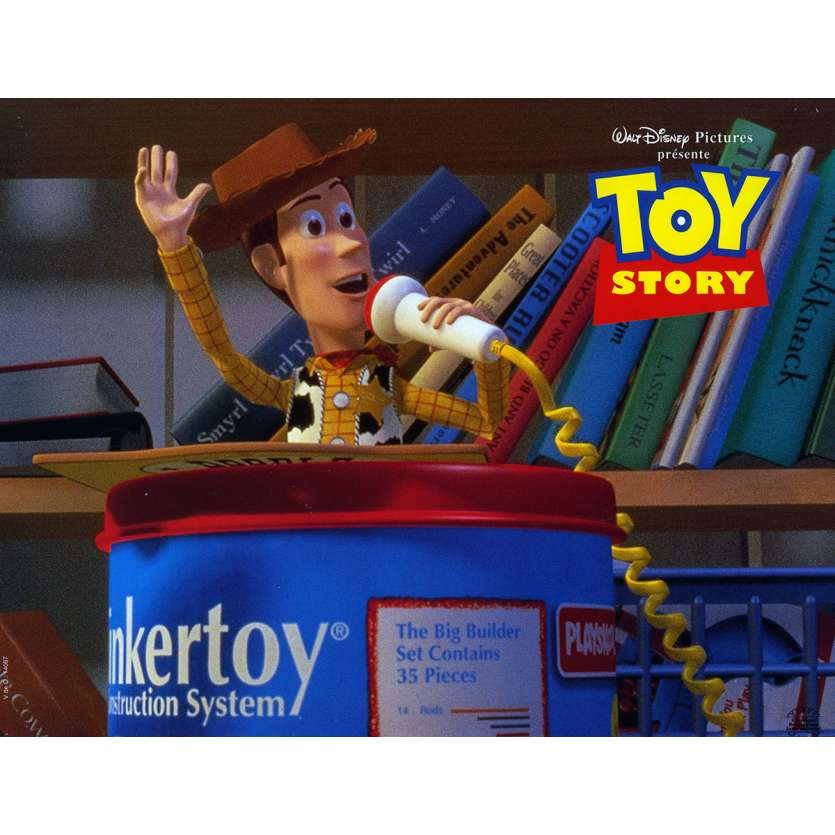 TOY STORY Lobby Card N1 9x12 in. French - 1995 - Pixar, Tom Hanks