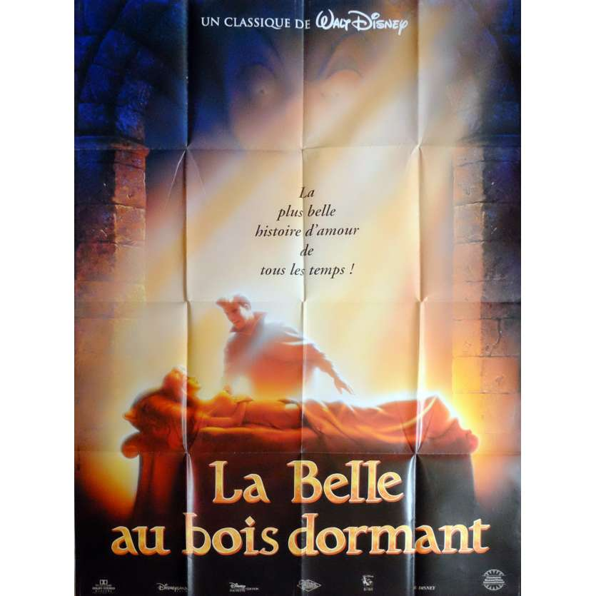 SLEEPING BEAUTY Movie Poster 47x63 in. French - R1990 - Walt Disney, Mary Costa