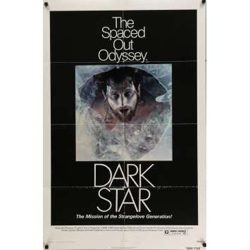 DARK STAR Movie Poster 29x41 in. USA - 1974 - John Carpenter, Dan O'Bannon