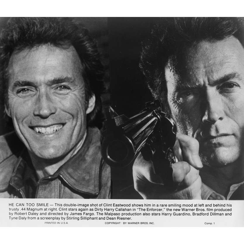 THE ENFORCER Movie Still N9 8x10 in. USA - 1976 - James Fargo, Clint Eastwood