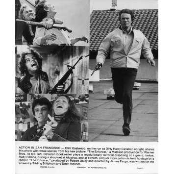 L'INSPECTEUR NE RENONCE JAMAIS Photo de presse N1 20x25 cm - 1976 - Clint Eastwood, James Fargo