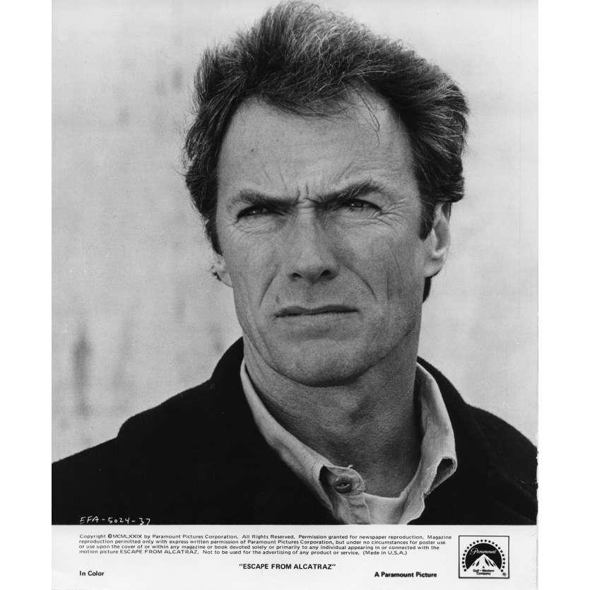 L'EVADE D'ALCATRAZ Photo de presse N1 20x25 cm - 1979 - Clint Eastwood, Don Siegel